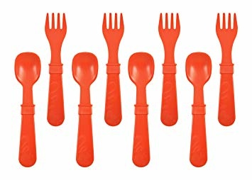 Re-Play Re-Play 8 Utensils - Red