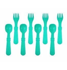 Re-Play 8 Utensils - Aqua