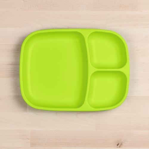 Re-Play Divided Tray - Lime Green