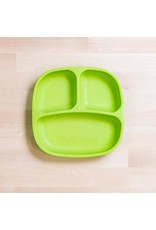 Re-Play Divided Plate - Lime Green