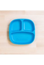 Re-Play Re-Play Divided Plate - Sky Blue