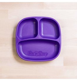 Re-Play Re-Play Divided Plate - Amethyst