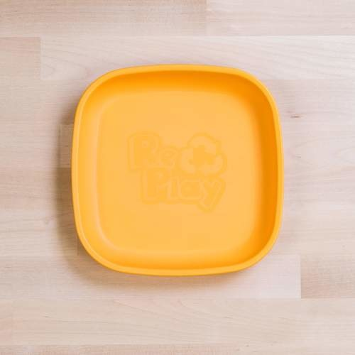 Re-Play Re-Play Flat Plate - Sunny Yellow