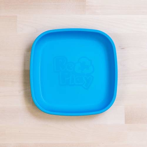 Re-Play Flat Plate - Sky Blue