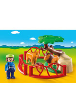 Playmobil 1.2.3 Lion Enclosure