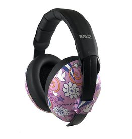 Baby Banz Mini Earmuffs Peace 0-2yr
