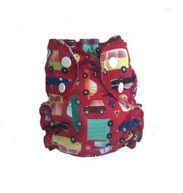 AppleCheeks Washable Swim Diaper - Car!