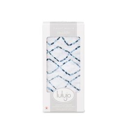 Lulujo Cotten Muslin Swaddle - Diamond Road