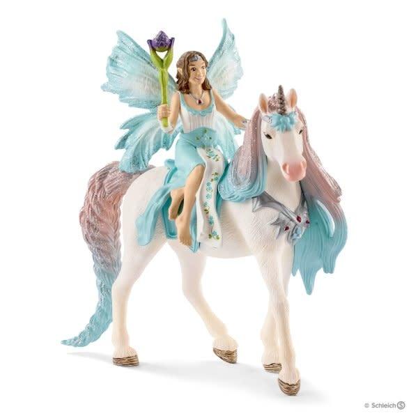 Schleich Fairy Eyela W/ Princess Unicorn