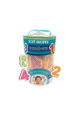 Soft Shapes Tub Stickables - Numbers