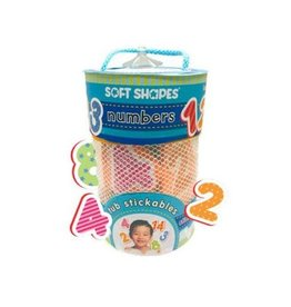 iKids Soft Shapes Tub Stickables - Numbers