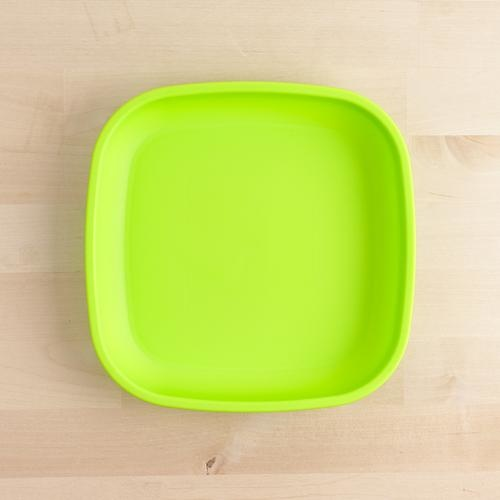 Re-Play Flat Plate - Lime Green