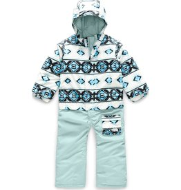 The North Face The North Face Toddler Insulated Jumpsuit TNF White Tribal