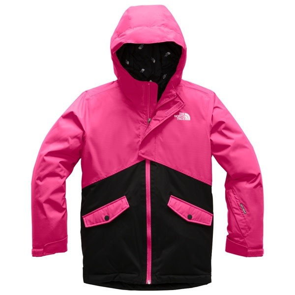 The North Face Girls' Freedom Insulated Jacket Mr Pink