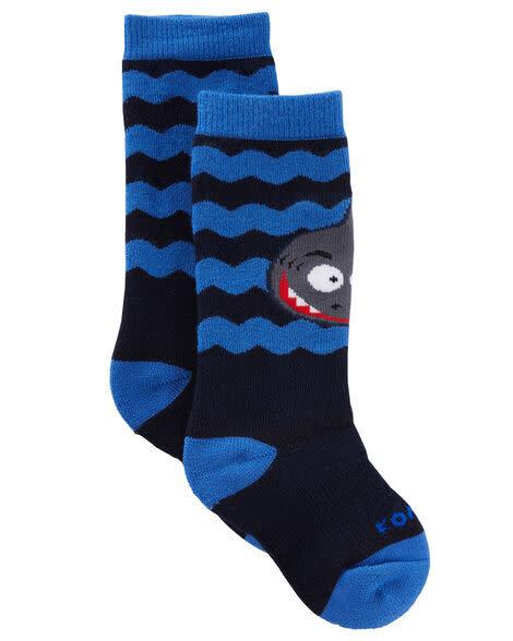 Kombi Animal Family Jr Sock Spooky the Shark