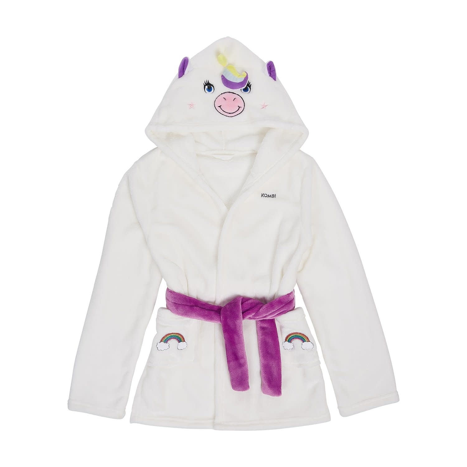 Kombi The Cozy Animal Robe Children Grace the Unicorn