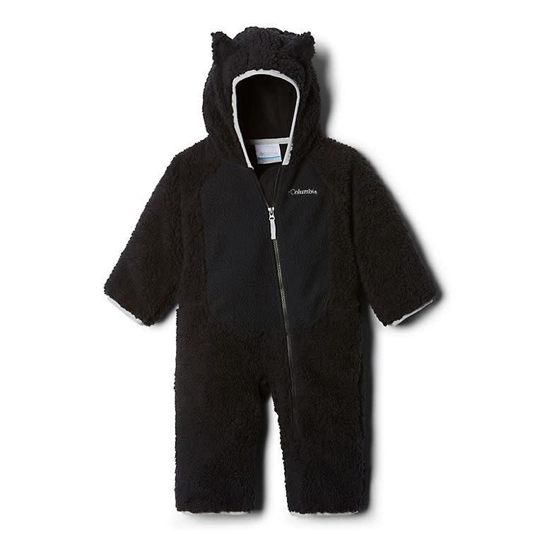Columbia Foxy Baby Sherpa Bunting - Black, Slate Grey