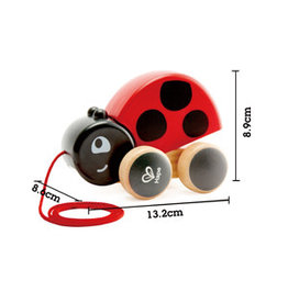 Hape Lady Bug Pull Along