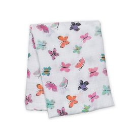 Lulujo Lulujo Cotton Muslin Swaddle