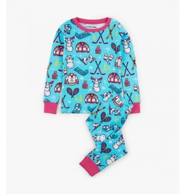 Winter Traditions Kids PJ