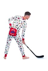 Hockey Night In The Wild Adult Union Suit