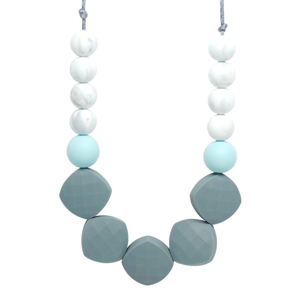Glitter & Spice Silicone Teething Necklace - Twillight