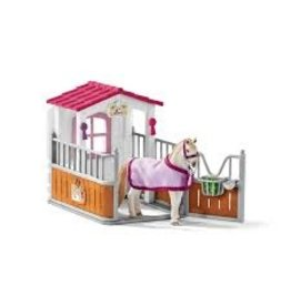 Schleich Horse Stall with Lusitano Horse