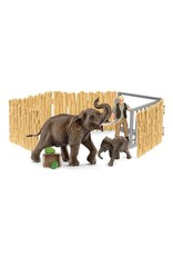 Schleich Home for Elephants