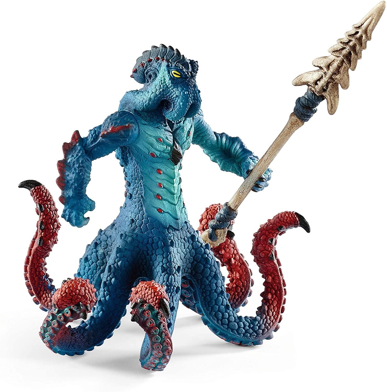 Schleich Monster Octopus w/Weapon