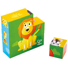 Hape Jungle Animal Block Puzzle