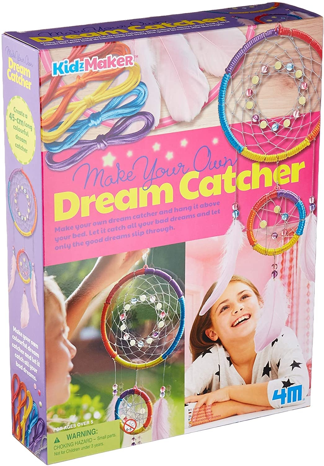 4M Glow in the Dark Dream Catcher Kit