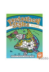 Outset Media Fantastical Styles: Ocean Coloring Book