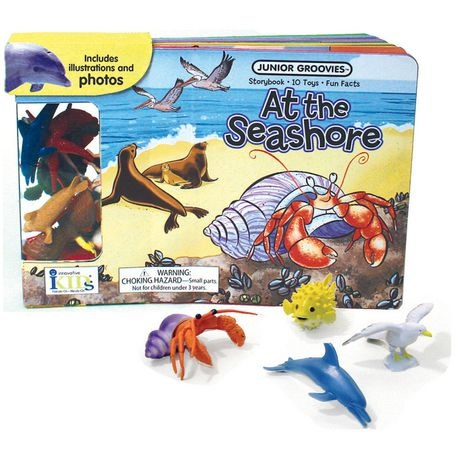 Junior Groovies Books - At the Seashore