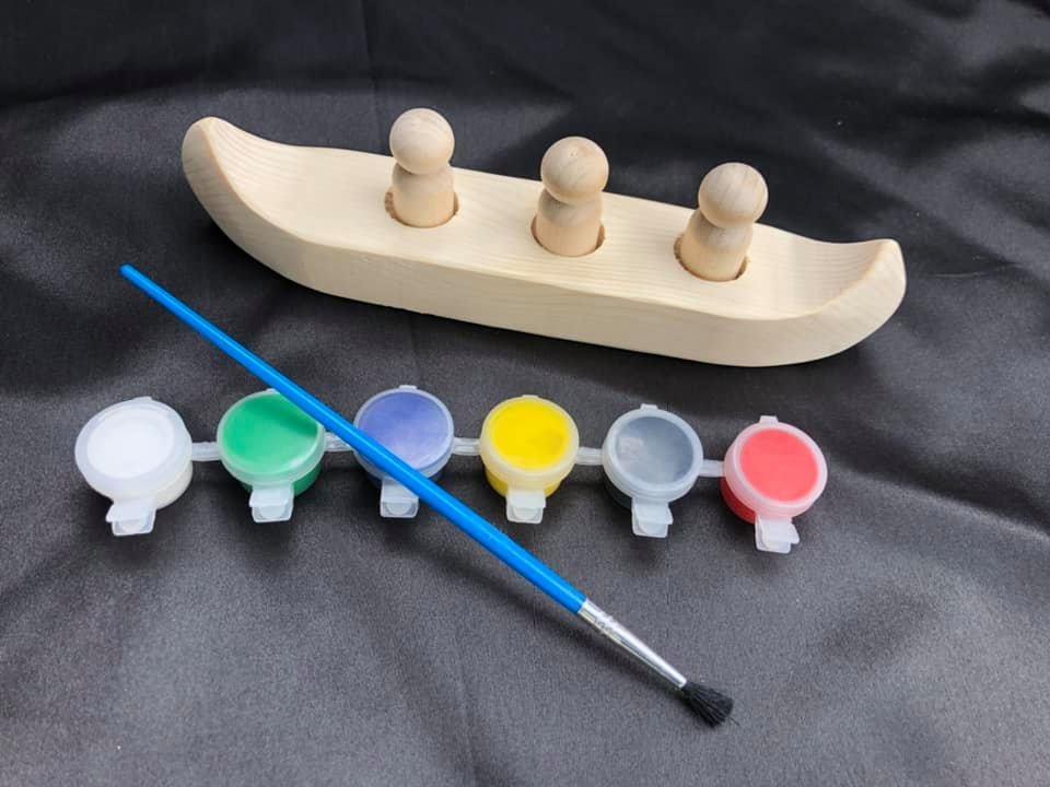 Paint N Play Canoe