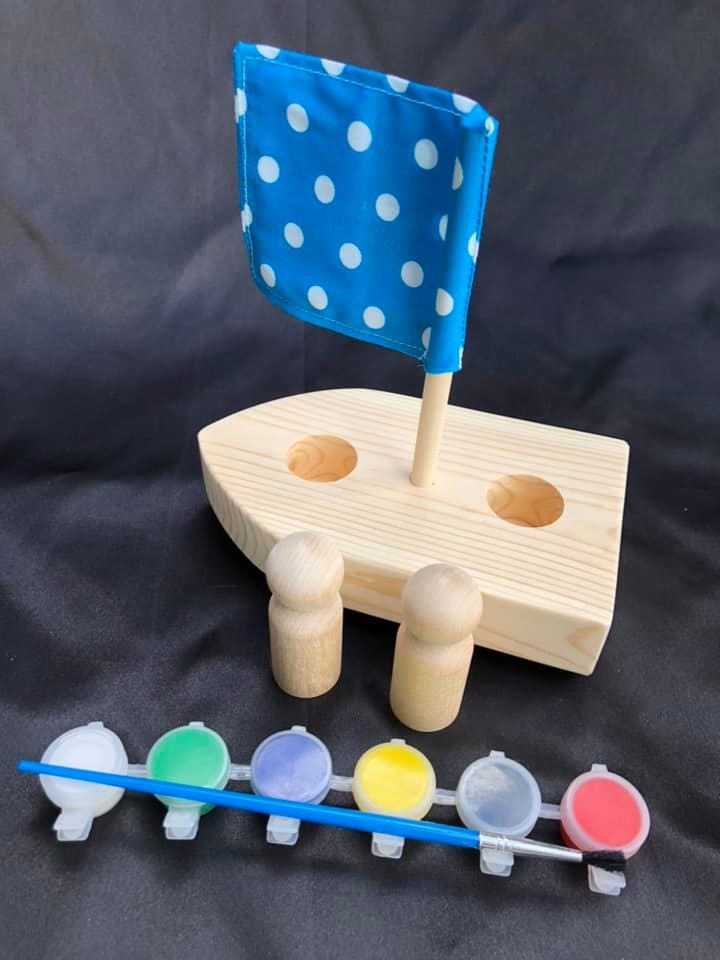 Paint n Play Boat