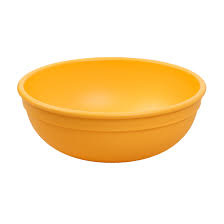 Re-Play Large Bowl - Sunny Yellow