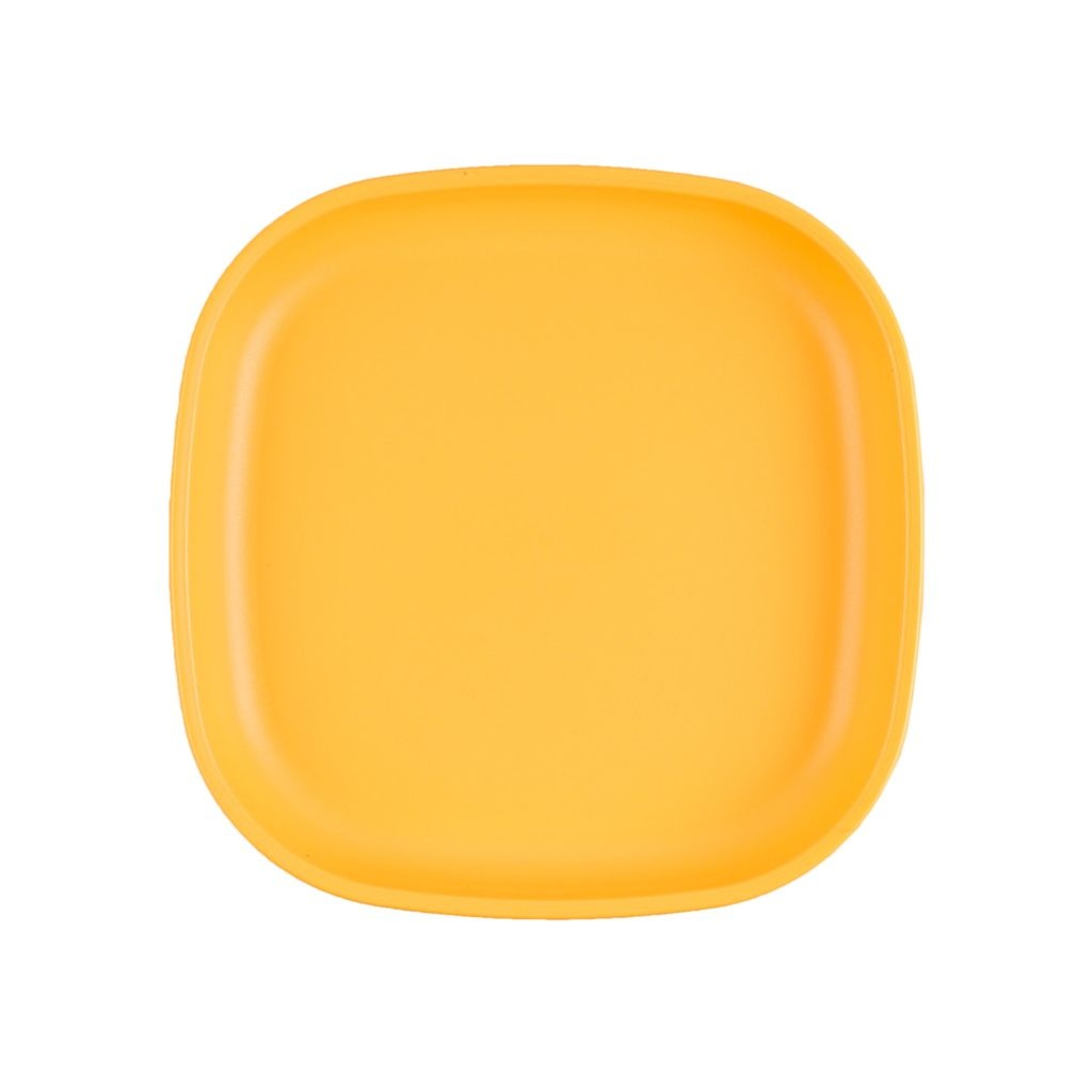 Re-Play Large Plate - Sunny Yellow