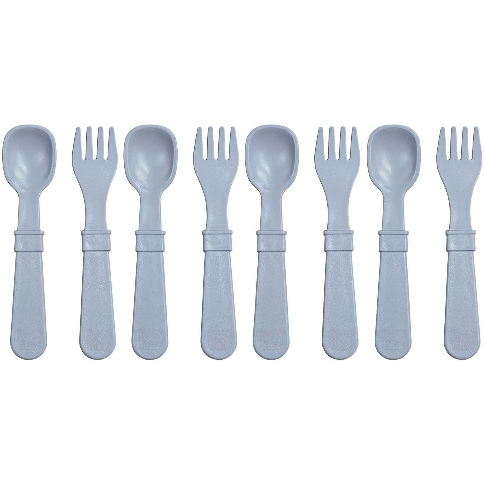 Re-Play 8 Utensils - Grey