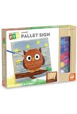 MindWare Paint-Your-Own Wood Pallet Sign