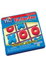 PlayMonster Take 'n' Play Tic-Tac-Toe Game Tin (Bilingual)