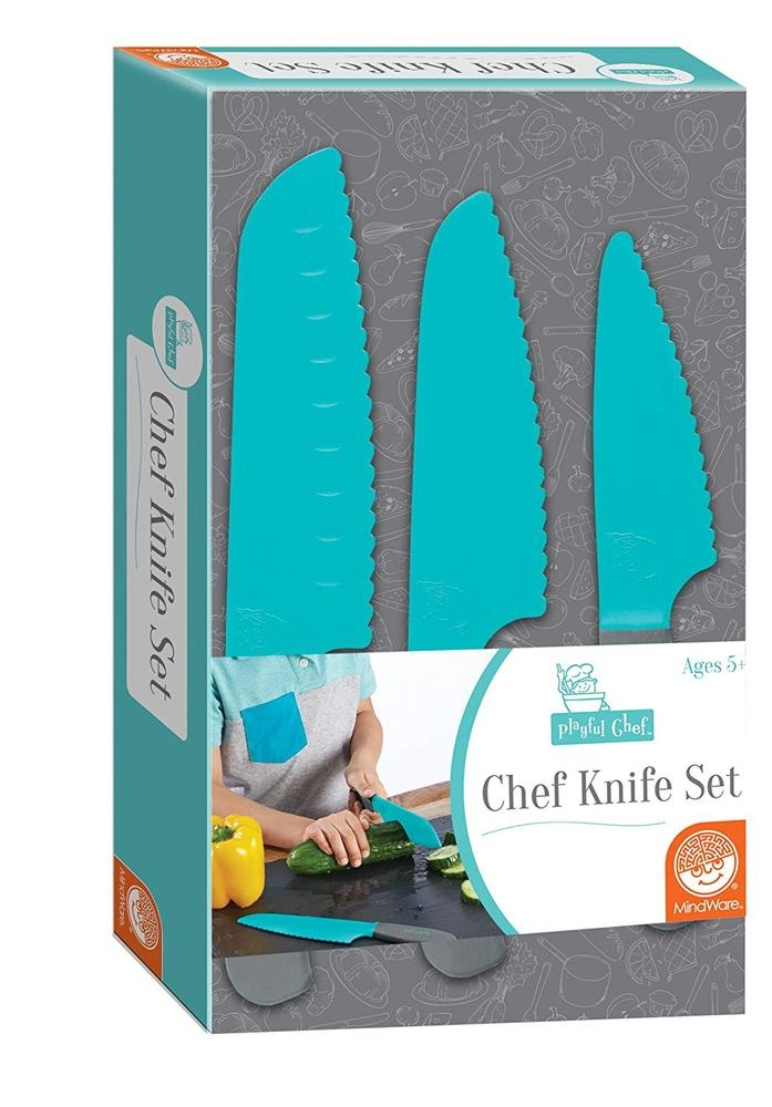 Playful Chef Knife Set