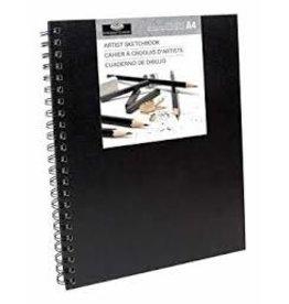 Royal Langnickel Sketchbook Large - Black Cover