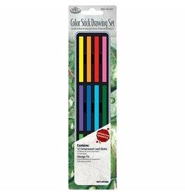 Royal Langnickel Mini Tin Long Color Sticks