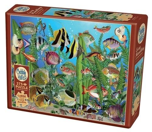 Cobble Hill 275 Piece Puzzle Aquarium