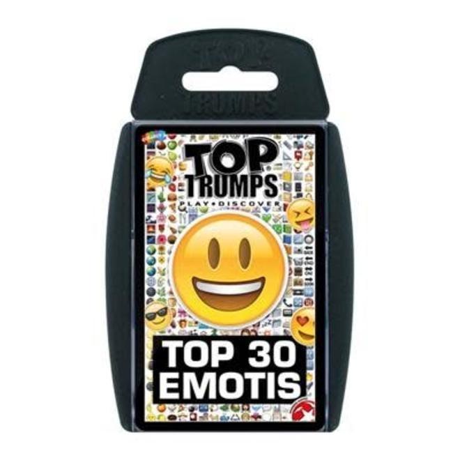 Top Trumps Top 30 Emojis