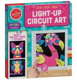 Klutz Sew Your Own Light-up Circuit Art
