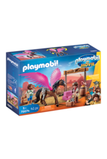 Playmobil THE MOVIE Marla and Del with Flying Horse