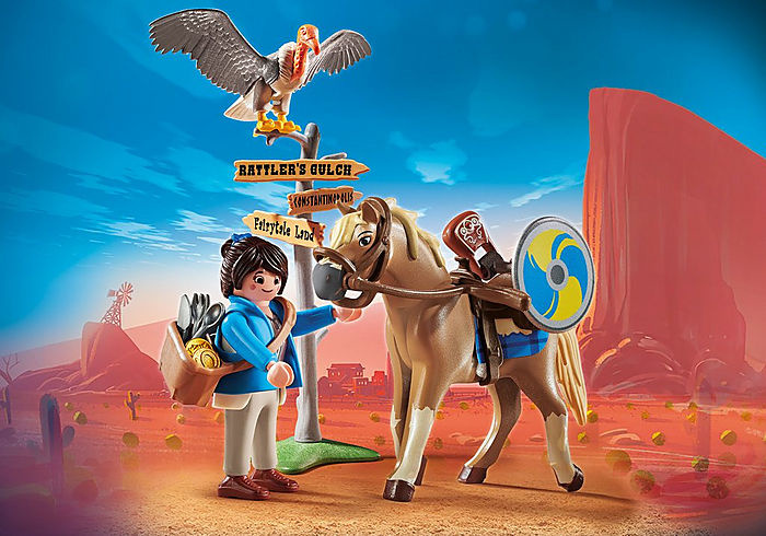 Playmobil THE MOVIE Marla with Horse