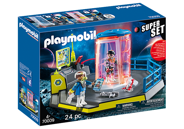 Playmobil SuperSet Galaxy Police Rangers