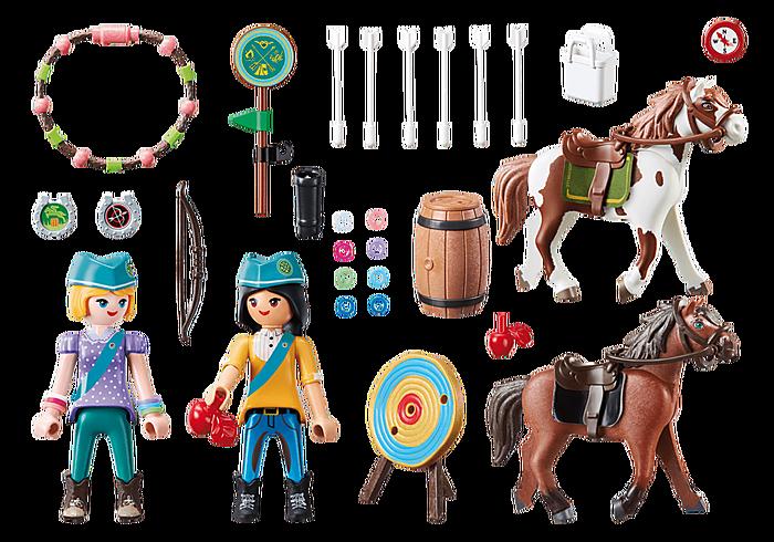 Playmobil Spirit III Outdoor Adventure